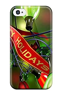 LaIlUaV7257KCblD DPatrick Awesome Case Cover Compatible With Iphone 4/4s - Happy Holidays