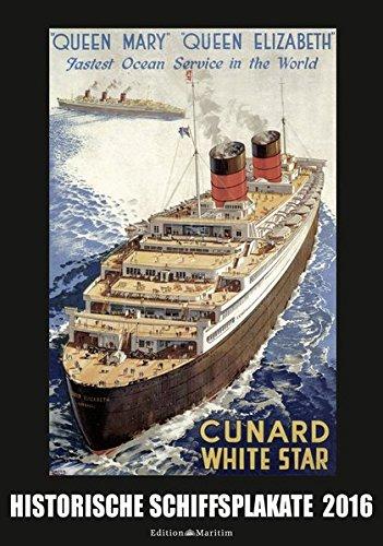 Historische Schiffsplakate 2016