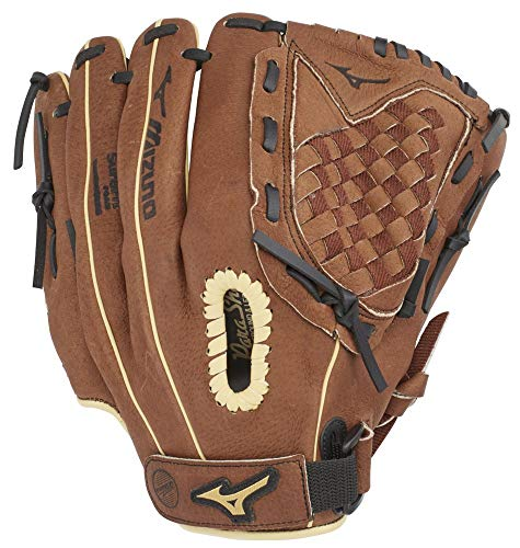 "Mizuno GPP1150Y3 Prospect Series PowerClose Baseball Gloves, 11.5"", Right Hand Throw"