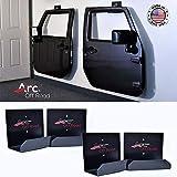 The-Original-Arc-Off-Road-Window-Channel-Jeep-Door-Hanger-Bracket-4-Door-4-hangers-For-CJ-YJ-TJ-JK-JKU-JL-JT-A