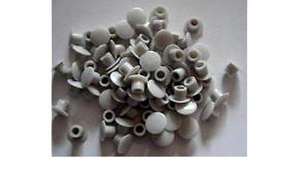 Celtic Woods - Juego de 50 tapones embellecedores para agujeros (5 mm): Amazon.es: Bricolaje y herramientas
