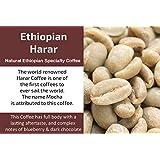 Ethiopian Harar - Unroasted (Green) Natural Ethiopia Coffee (1 Kg / 2.2 Lbs)