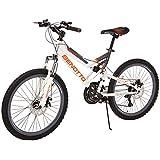 Benotto MDHNAV2421UNBL Bicicleta de Acero Rodada R24, Hombre, 21 Velocidades