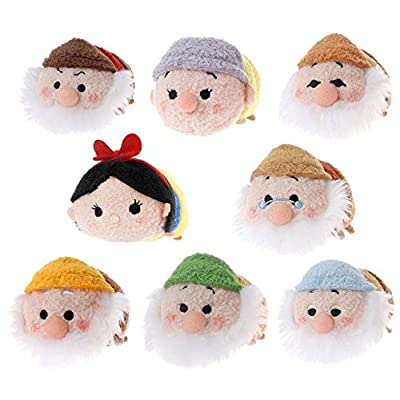 Snow White and the Seven Dwarfs Tsum Tsum Set of 8