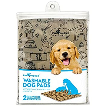 Amazon Com Washable Amp Reusable Pee Pads For Dogs Puppy