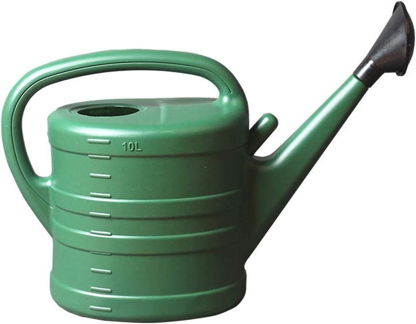 HTL Muy Grande Agua Puede la Beja Longa de la Boca Lorte de Las Plantas de Jardario de Hercadas de Lucte de 10 Litro Herramientas de Hercadas de 10 Litridos Decoración Del Hogar,Verde