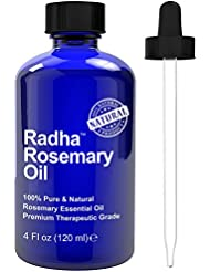 Radha Beauty Essential Oil 4 oz - 100% Pure (Rosemary)