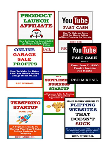 Business in A Box Bundle (7 in 1) (2015): PRODUCT LAUNCH AFFILIATE +  YOUTUBE MONEY MAKER 1 & 2 + ONLINE GARAGE SALES + SUPPLEMENT BUSINESS +  FLIPPING