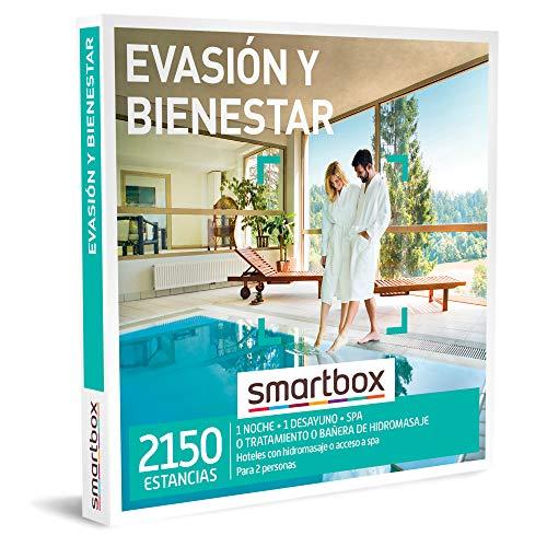 Smartbox Caja Regalo Evasion Y Bienestar Idea De Regalo 1 Noche Con Desayuno Y Spa Banera De Hidromasaje O Tratamiento Para 2 Personas