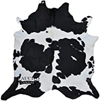 Traditional Black & White Cowhide