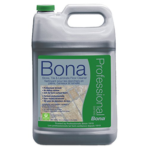 (Bona Professional Pro Series Wm700018175 Stone, Tile and Laminate Cleaner Ready to Use, 1-Gallon Refill,)