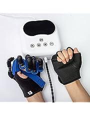 Revalidatie Robot Handschoenen, Verstelbare Vinger Functie Herstel Oefeningsapparatuur Voor Beroerte Hemiplegie Patiënten Met Disfunctie,M,Left hand