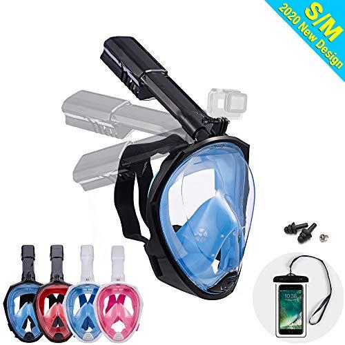Dekugaa Full Face Snorkel Mask