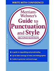 Merriam-Webster's Guide to Punctuation and Style, Second Edition