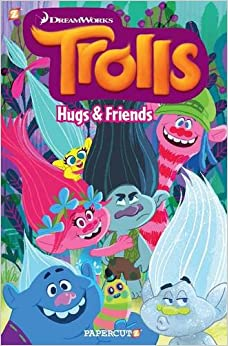 Image result for trolls graphic novel hugs and friends