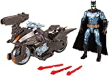 """DC Justice League Batman & Batcycle 6"""" Figure"""