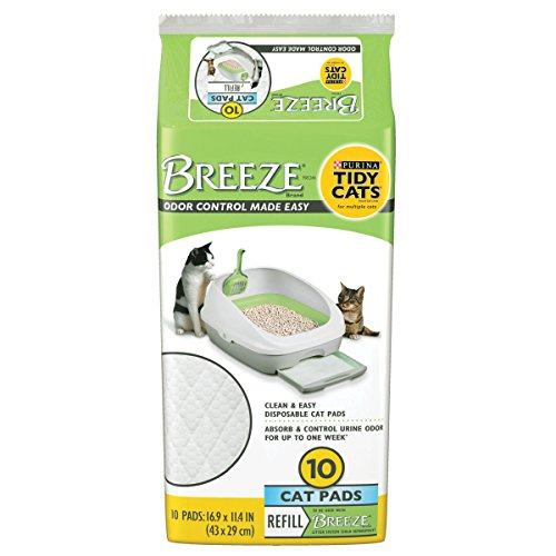 Tidy Cats Cat Litter Breeze Litter Pad Refill Unscented 10 c