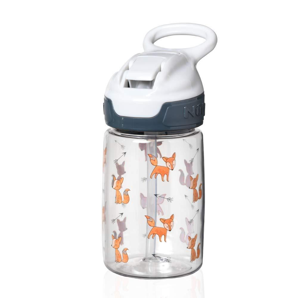 Incredible Gulp Active Tasse pour tout-petits Renard Gris 360 ml Nuby Tritan Sippy Cup