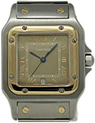 Cartier Santos Galbee Swiss-Quartz Female Watch 1566 (Certified Pre-Owned)