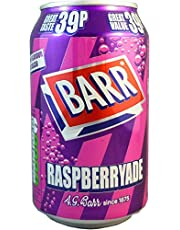 Barr's Raspberryade No Sugar 330mL (Pack of 24)