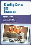 100 Blank Inkjet/Laser/Copier Greeting Cards with Envelopes