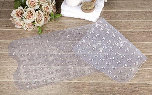 Bathtub Mat Non Slip Clear Pvc Anti Slip Anti Bacterial