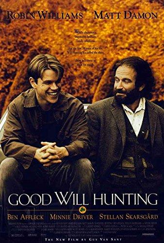 Amazon Com Good Will Hunting Movie Poster 27 X 40 Matt Damon Robin