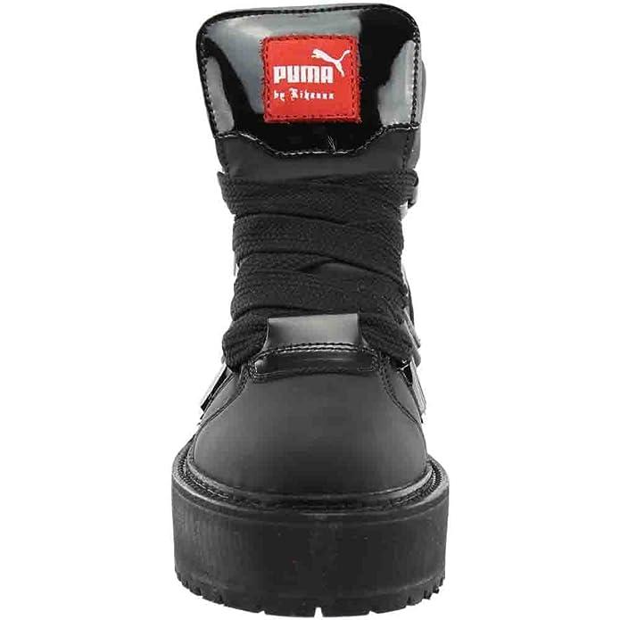PUMA Fenty by Rihanna Sneaker Casual da Uomo, Nero (Cruz V2