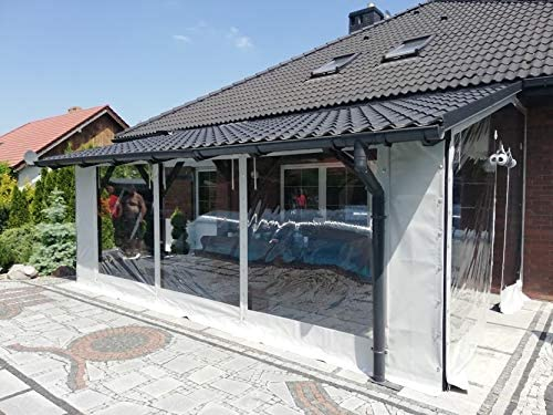 TERRASSENPLANE PVC PLANE LKW ABDECKPLANE FOLIE PLANE HOLZ GARTEN 650g//m²  1 m²