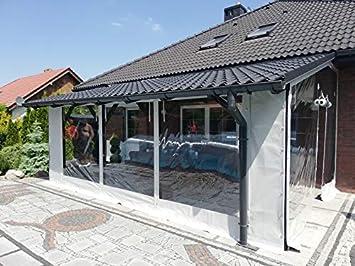 TERRASSENPLANE GARTEN 650g//m²  1m² VERKLEIDUNG LKW PLANE PVC ABDECKPLANE