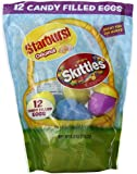 Skittles and Starburst Candy Filled Egg, 12 Count