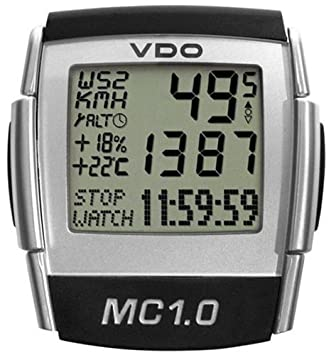 Vdo Mc1 0 Altimeter Cycle Computer Sports Outdoors