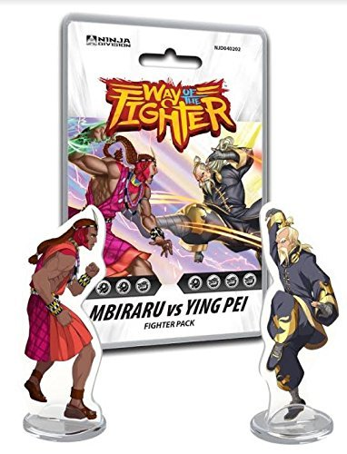 Amazon.com: Board Games Ninja Division Way of the Fighter ...