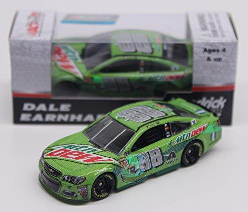Lionel Racing Dale Earnhardt Jr 2017 Mtn Dew Final Talladega Cup Series Raced Version NASCAR Diecast 1:64 Scale
