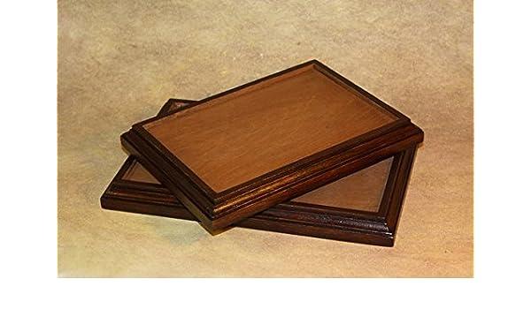 Base de madera para modelos de escala, soporte de madera para ...