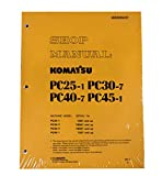 Komatsu Service PC25-1/PC30-7/PC40-7/PC45-1 Shop Manual