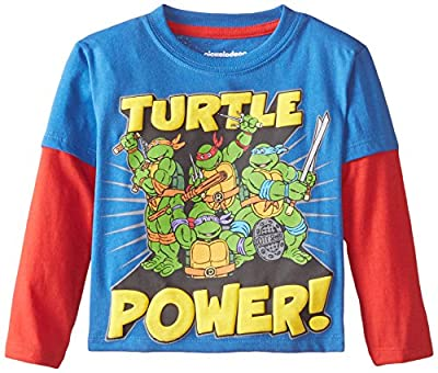 Teenage Mutant Ninja Turtles Boys' Turtle Power Group Shot TB Twofer
