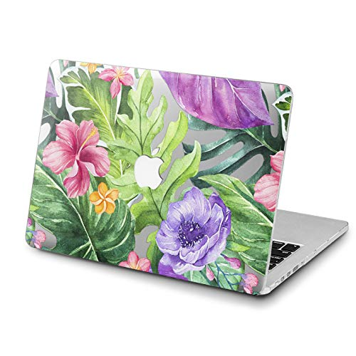 Lex Altern MacBook Air Case 2018 15 inch 13 11 12 A1990 2018 Mac Colorful Flowers Pink Unicorn 2017 Tropical Leaves A1708 Retina Green Hard Cover Apple Clear 2016 Laptop Protective Print Girly Women
