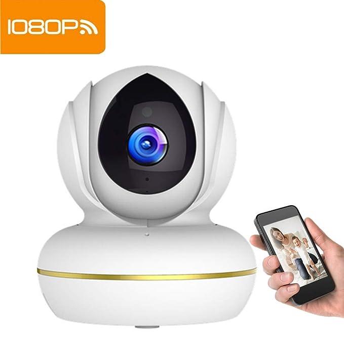 Cámara IP inalámbrica Supereye 1080P WiFi cámara de vigilancia IP CAM Sistema de vigilancia con grabación de Video, HD visión Nocturna, detección de ...