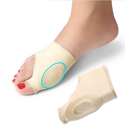 2 Paar Hallux valgus Korrektur Gel-Pad-Socken Sockenset für die Schmerzlinderung bei Hallux valgus & zum Ausrichten der Zehen