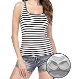 Best Fitting Camisole With Bras - Camisoles for Women with Built in Bra, Summer Review