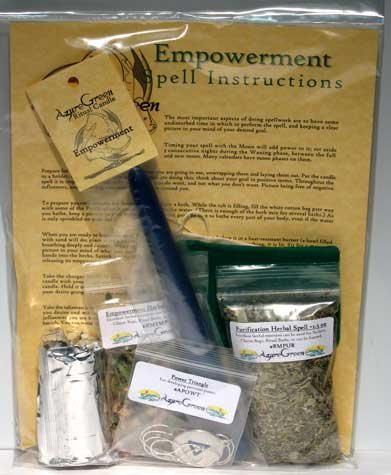 Fortune Telling Toys Magic Spell Kit Empowerment Take Control of Life by AzureGreen
