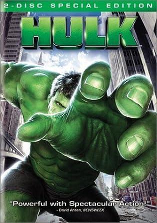 Amazon Com Hulk 2 Disc Full Screen Special Edition Movies Tv