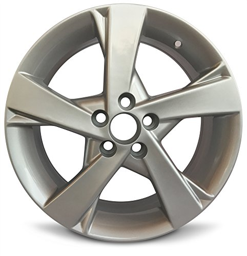 - Toyota Corolla New Aluminum 16 Inch Rim OEM Replica Replacement Spare Alloy Wheel (16x6.5 5x100 Offset of 35mm and Center Bore of 54.06mm)