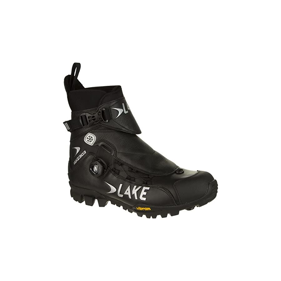 Lake MXZ303 Winter Boots Wide Men's Black, 46.0