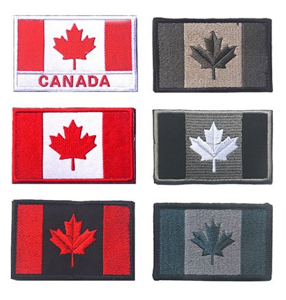 Amazon.com  Canada Flag Tactical Patch 771479be2d57