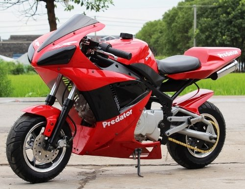 (110cc X18 - X7 Super Bike Fully Automatic Bigger Than Pocket Bike with Electric Start - Brake Type (front / rear) Disc Brake / Disc Brake By)