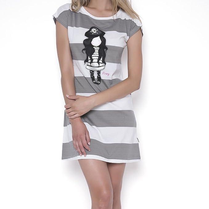 Pijama Camisola Mujer Gorjuss - Piracy, XS