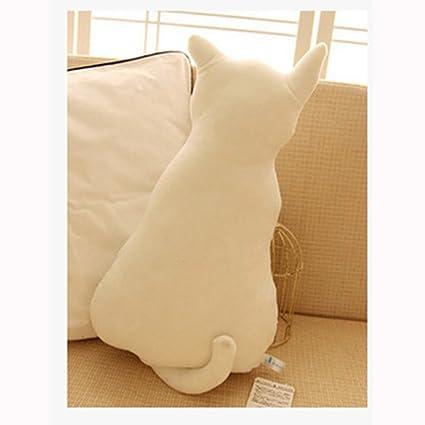 Amazon.com: dongcrystal de gato suave con forma de Back ...