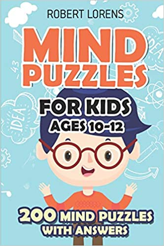 Mind Puzzles for Kids Ages 10-12: Star Battle Puzzles - 200 Brain
